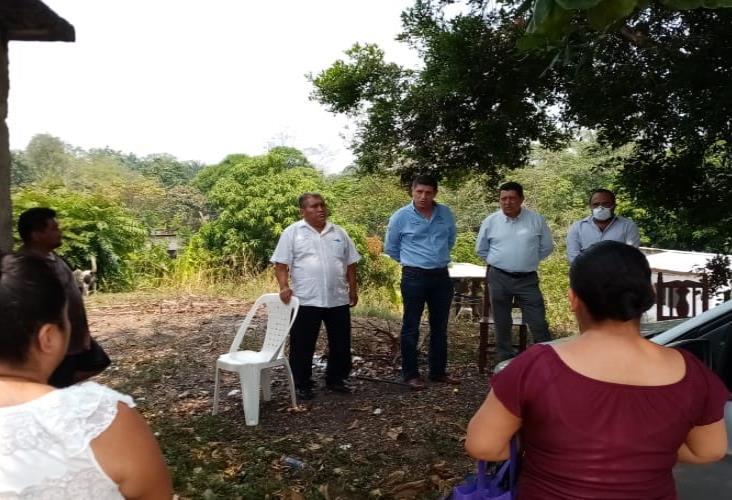 El gobierno estatal construirá dos pozos profundos al sur de Cosoleacaque