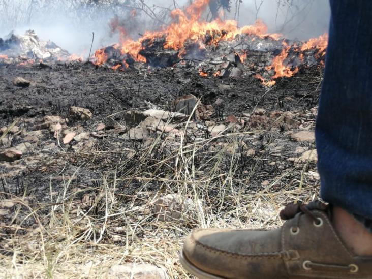 Persiste contaminación por emanaciones de humo en basureros