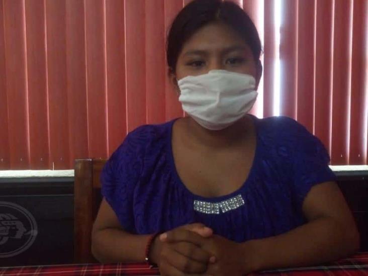 En Minatitlán, joven madre clama que le regresen a su recién nacido