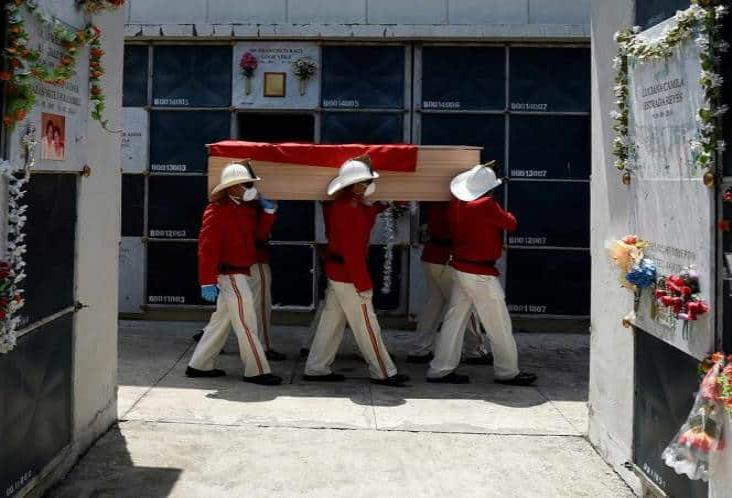 Sobrepasa Ecuador 2 mil muertes por Covid-19
