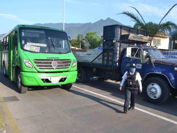 Reprueban que transporte público en Orizaba no acate medidas sanitarias