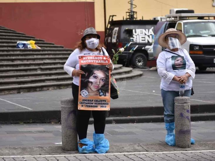 Nada que celebrar para madres de desaparecidos en Veracruz; no las asusta ni pandemia