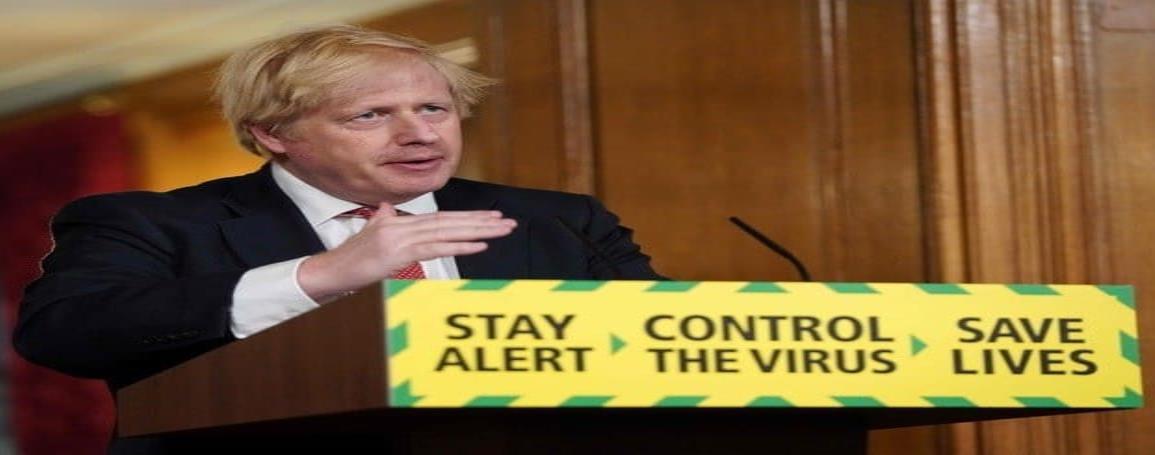Entre críticas, Johnson anuncia plan de desconfinamiento en GB