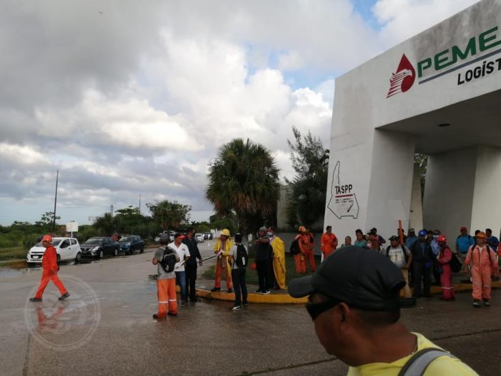 Obreros de la CTM logran contratar y desmentir señalamientos contra de su delegado