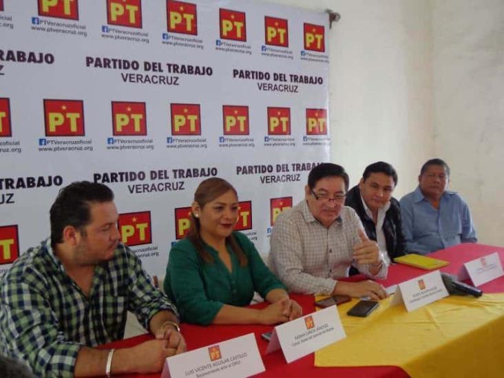PT: piso parejo en disminución de recursos a partidos en Veracruz