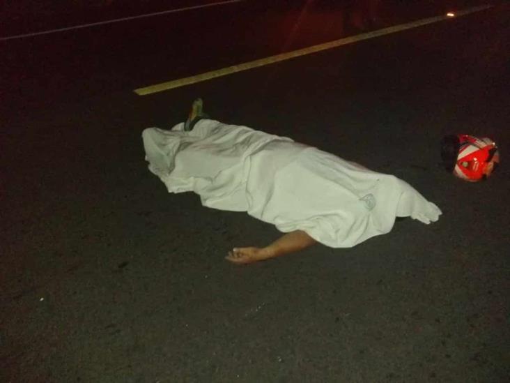 Conductor pierde la vida por evitar atropellar a perro en carretera federal