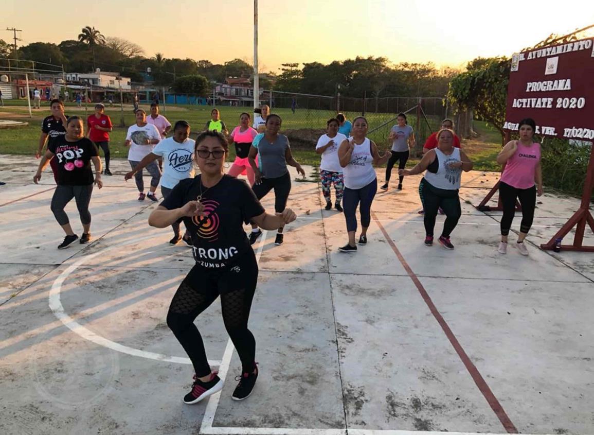 Instructores de ejercicios  físicos siguen sufriendo
