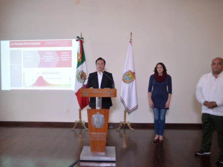 Veracruz mantiene plan contra COVID-19 ante eventual punto cúspide