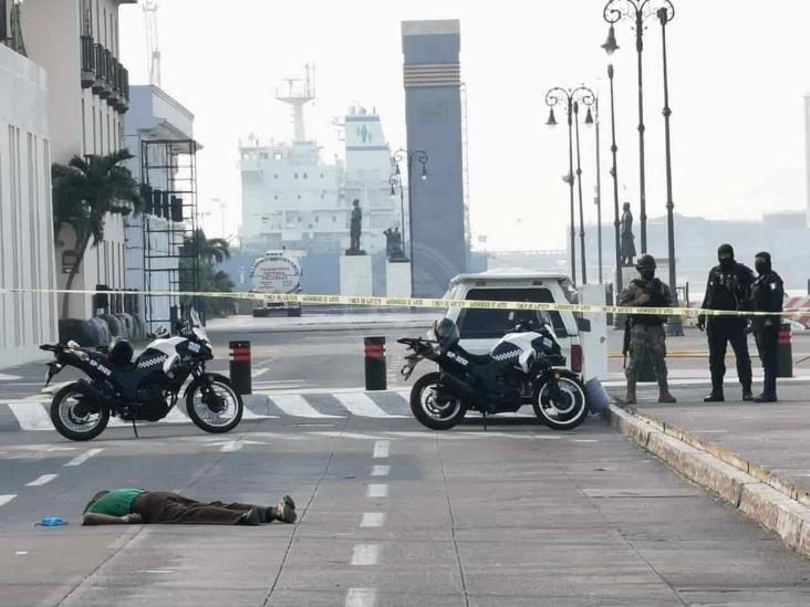 Fallece hombre que deambulaba en calles de Veracruz