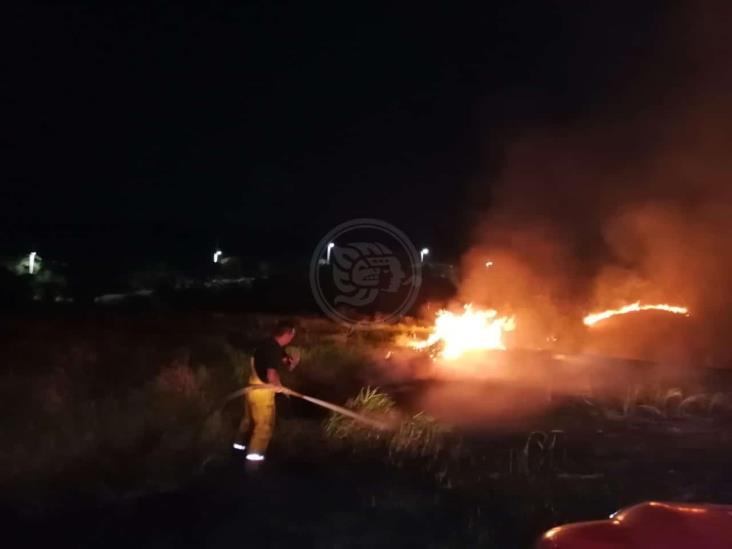 PC tardó 8 horas en controlar incendio en rancho de Acayucan