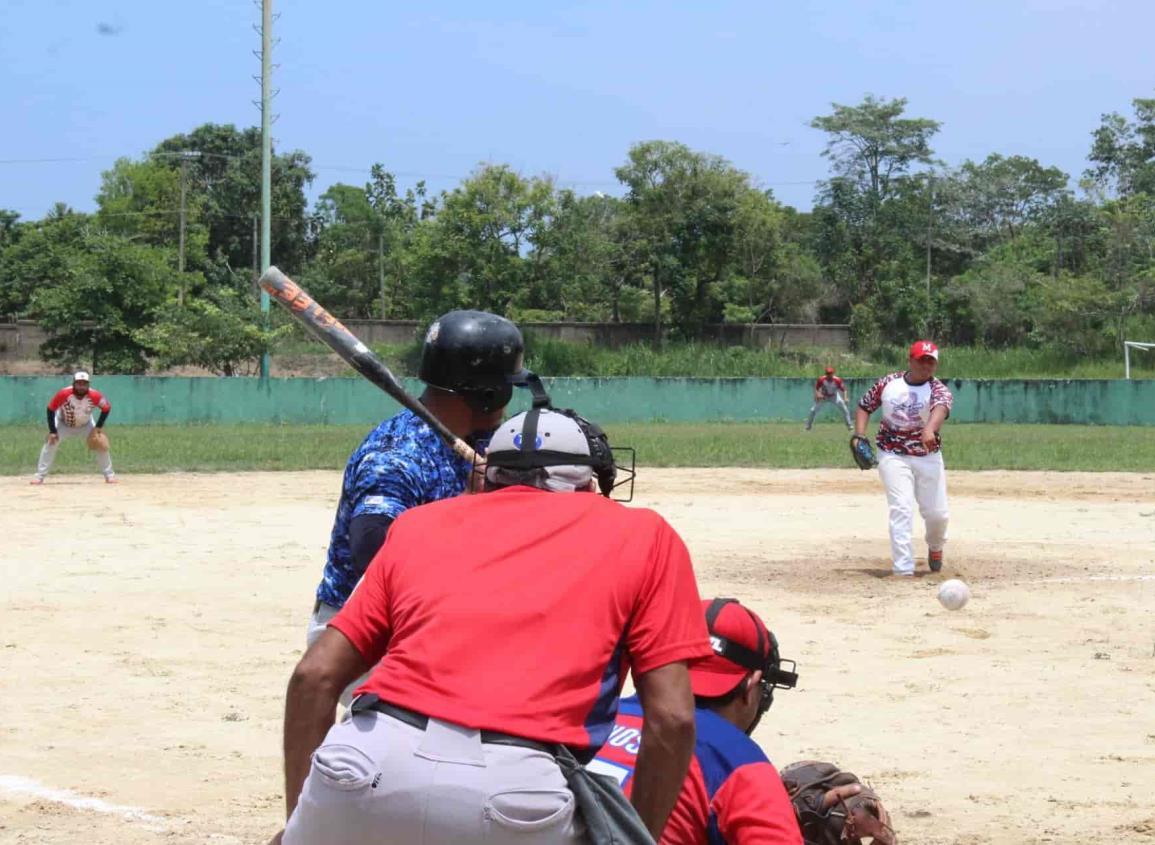 Softbol Intersemanal de Las Choapas está firme