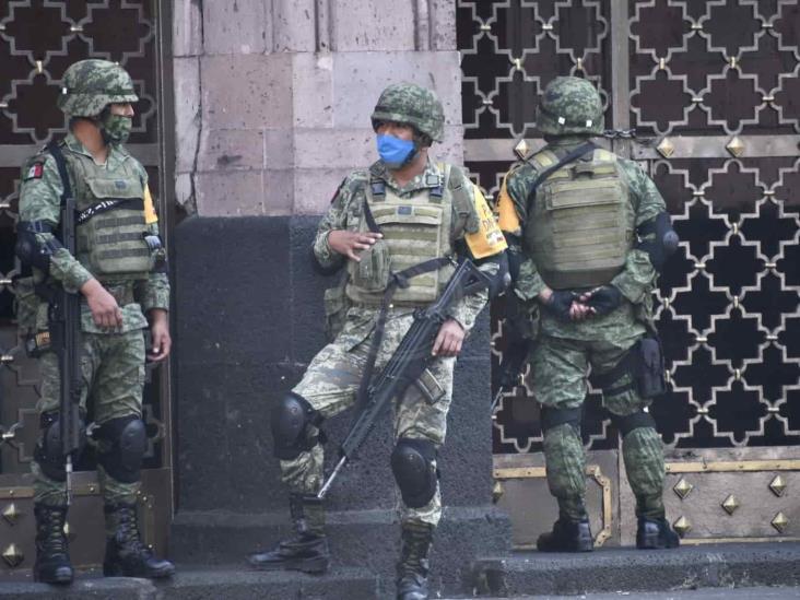 Pide CNDH marco jurídico para definir actuación de Fuerzas Armadas