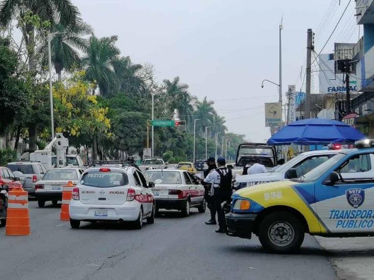 Lanzan SOS por taxistas de Veracruz ante pandemia y exigencias de Tránsito