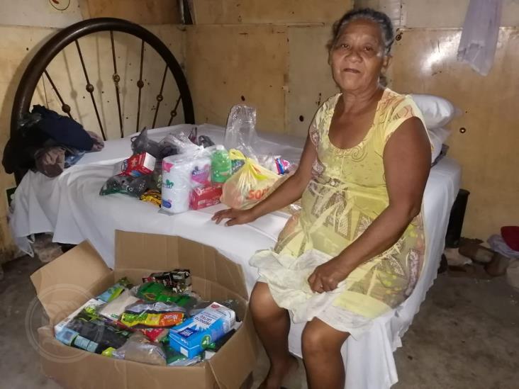 Doña Josefa, agradece el apoyo de la ciudadanía para su hijo