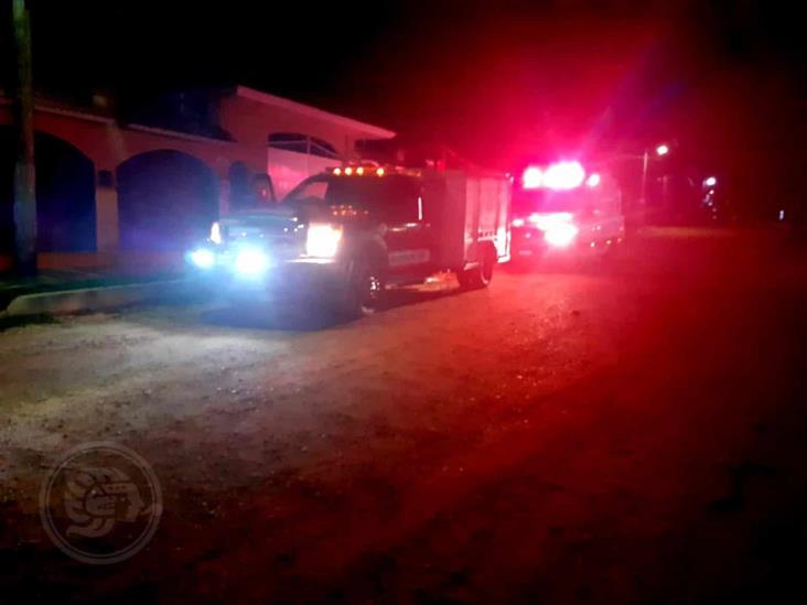 Alarma por conato de incendio en Acayucan