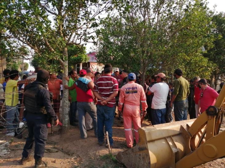 Denuncian a invasores del rancho Los Laureles en Villa Oluta