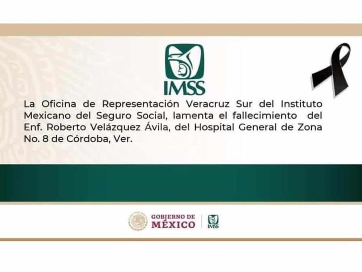 Despiden entre aplausos a enfermero de Córdoba fallecido por COVID-19