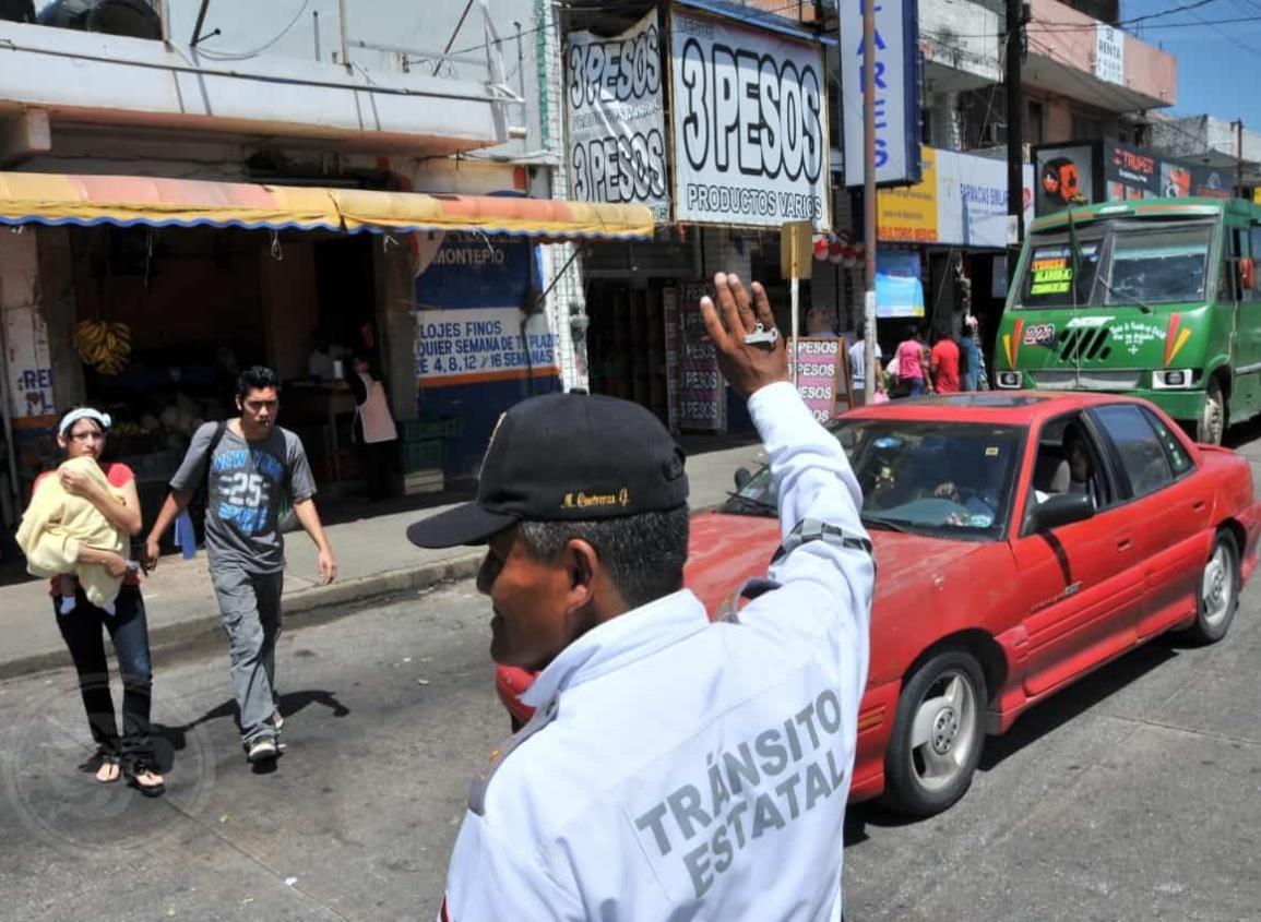 Restringen ingreso en transporte público y privado en Veracruz