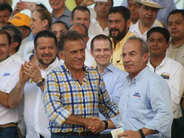 Ante fuertes acusaciones, se deslinda Calderón de Yunes Linares
