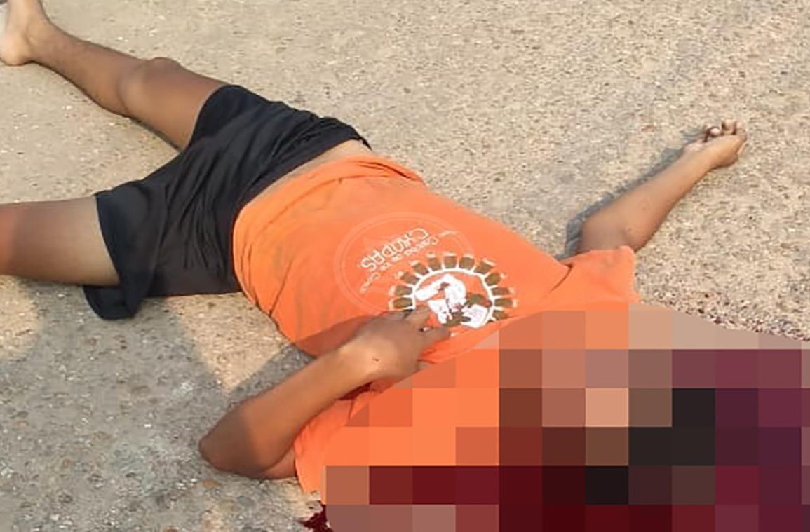 Dan muerte a joven en plena calle de Cosoleacaque