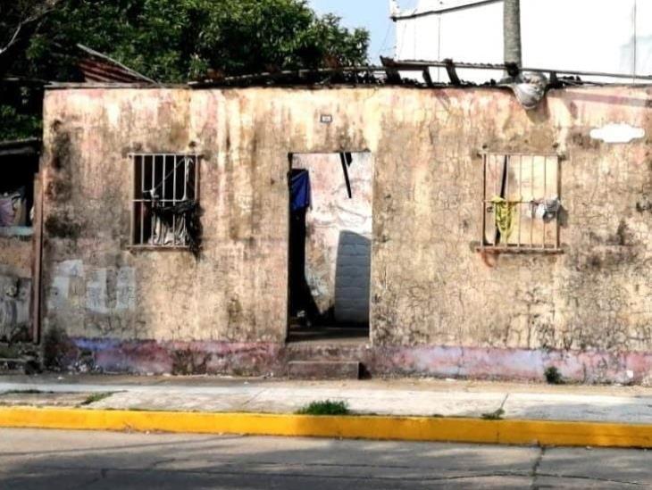 En Coatzacoalcos, casas abandonadas se han convertido en refugio de delincuentes