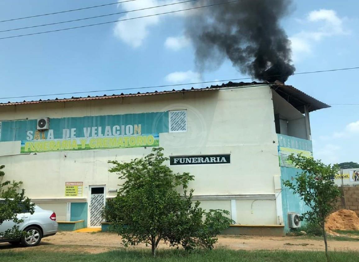 Descartan daños a la salud por actividad de crematorio en Acayucan