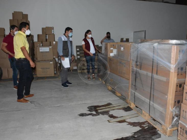 Recibe Veracruz respiradores mecánicos gestionados por la SRE