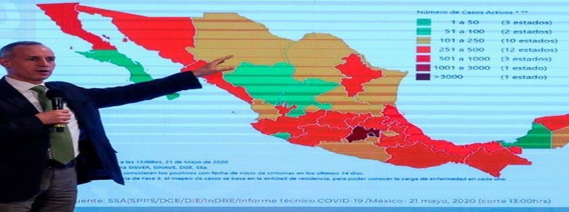 Grandes ciudades seguirán en rojo el 1 de junio por covid-19: López-Gatell