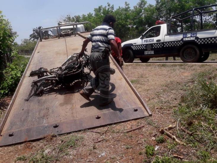 Sin rastro de la cabeza del taxista decapitado en Acayucan