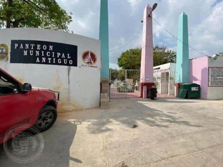 Construirán más nichos en panteones de Coatzacoalcos ante pandemia