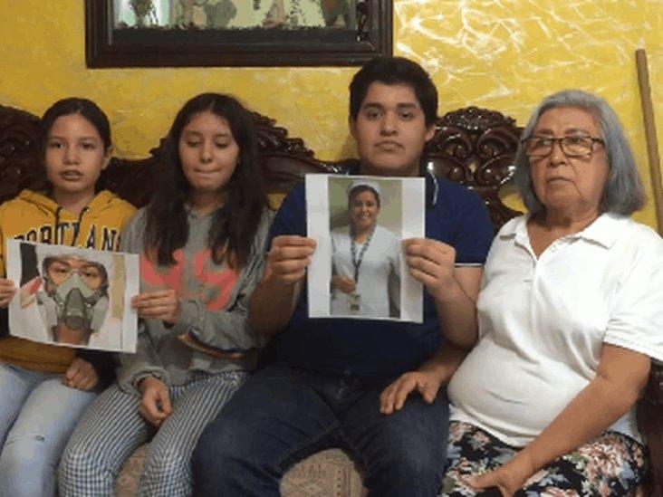 No ve desde hace 2 meses a su familia por luchar contra COVID-19 en Veracruz