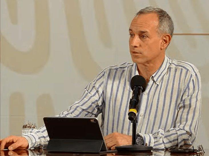 Llama OMS a sus filas a Hugo López-Gatell