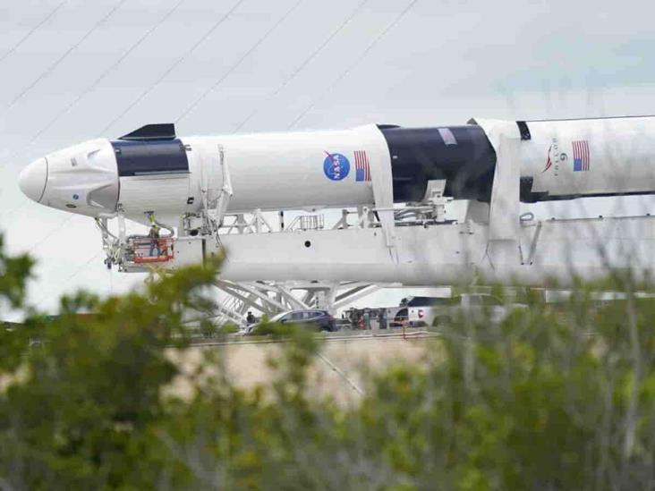 Todo listo en la NASA para despegue de cápsula de SpaceX