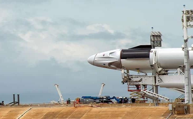 Abortan despegue del Crew Dragon de SpaceX por mal tiempo