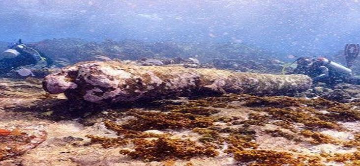 Hallan restos de antiguo naufragio en el Caribe mexicano