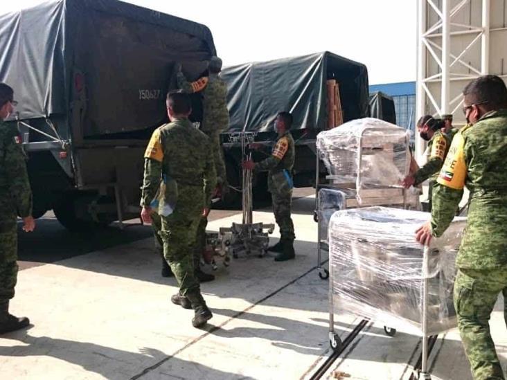 Sedena abre 3 instalaciones para atender COVID-19 en Veracruz