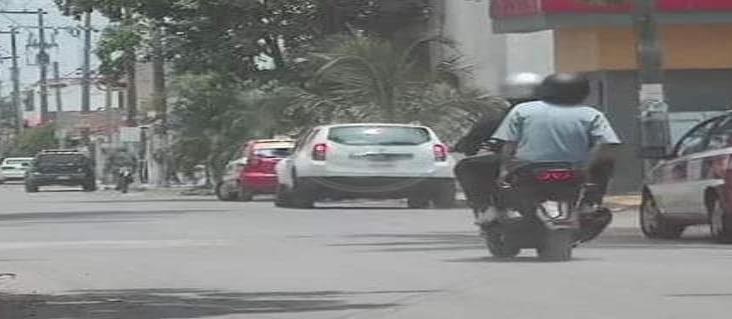 Captan robo a motociclistas en Veracruz