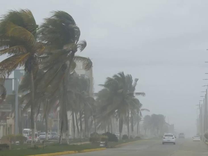 Persistirían tormentas en Veracruz durante el fin de semana