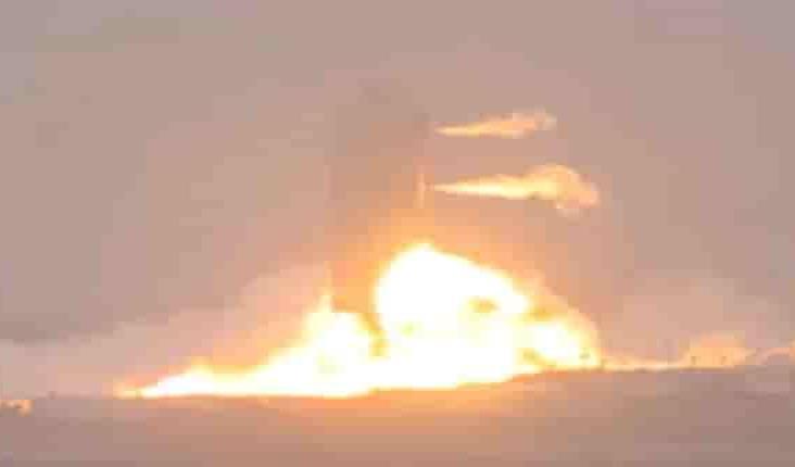 Explota el prototipo de una nave espacial de SpaceX durante una prueba