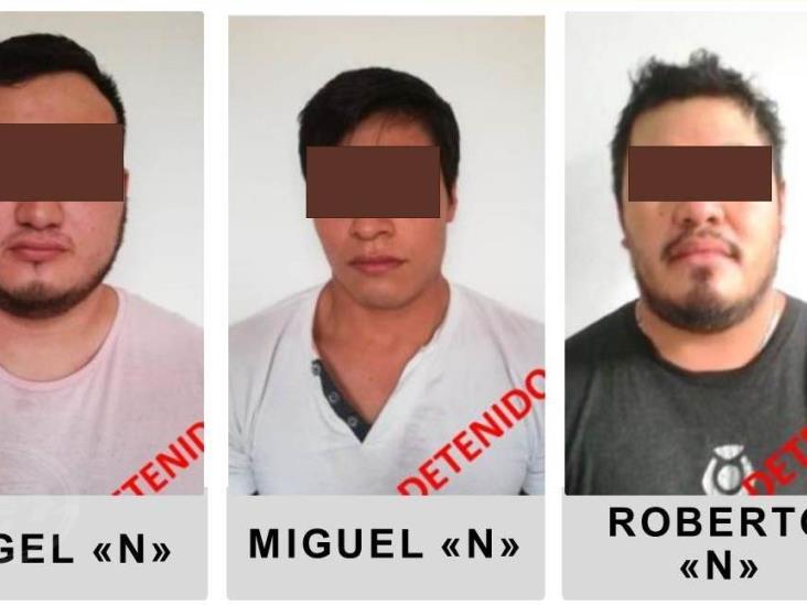 Acayuqueños dos de los secuestradores detenidos en San Andrés Tuxtla