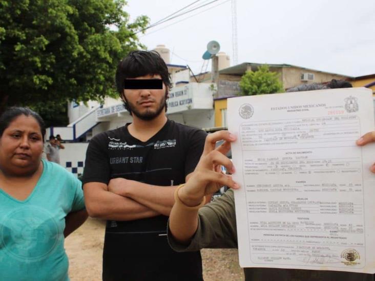 Denuncian abuso de autoridad de la SSPE en Acayucan; detienen a menor