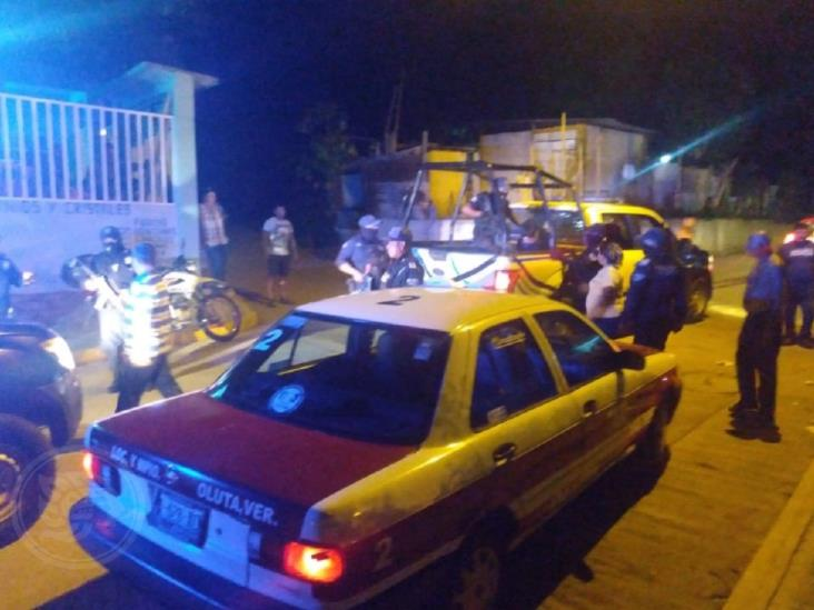 Hieren a taxista al intentar asaltarlo en Oluta