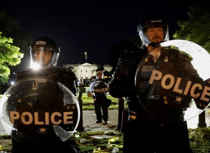 Guardia Nacional resguarda la Casa Blanca ante protestas