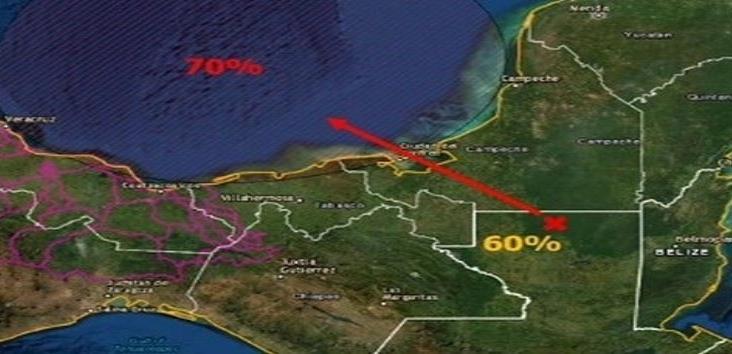 Remanentes de ´Amanda´ podrían reintensificarse en el Golfo de México