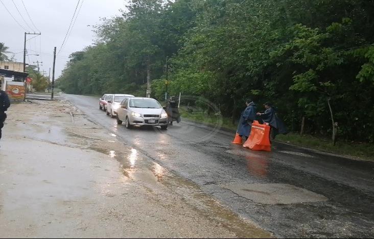 Cierran accesos a Las Choapas; refuerzan medidas sanitarias