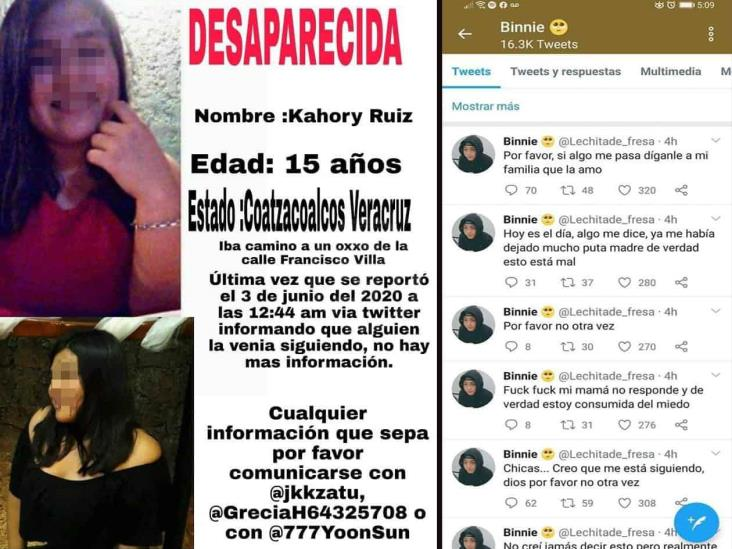 Joven de Coatzacoalcos se hace tendencia por fingir desaparición