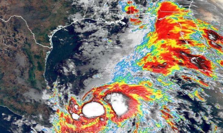 Tormenta tropical Cristóbal deja leves afectaciones en Veracruz