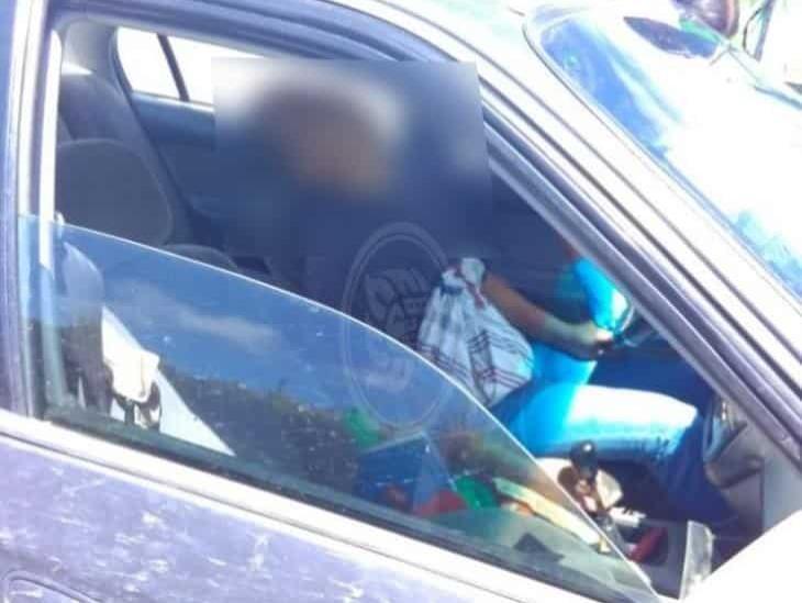 En Veracruz, fallece hombre al interior de su vehículo