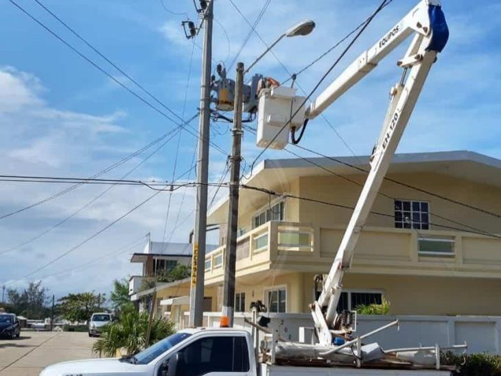 Pandemia atrasó colocación de lámparas ahorradoras en Coatzacoalcos