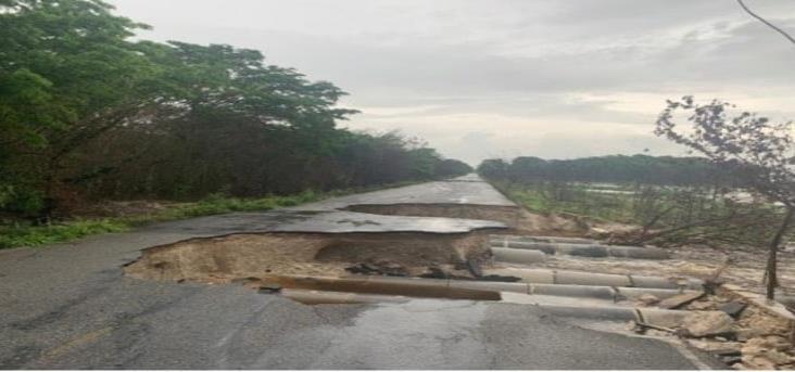 SCT en alerta por fuertes lluvias en el sureste del país